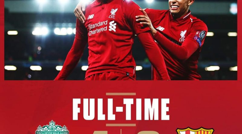 quality design 3dc96 c5c83 Full-time: Liverpool 4-0 Barcelona - iReport South Africa News