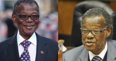 Former IFP President Mangosuthu Buthelezi has tested positive for Covid-19