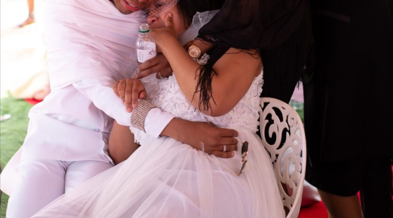 Lasizwe Breaks Down At The Cemetery As They Lay His Father To Rest