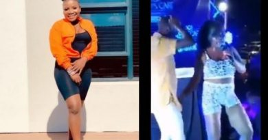 Makhadzi in trouble for grabbing men's d!ck at gigs (Video)