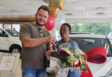 'He can keep the land' – Malcom Wentzel buys TikTok sensation 'Thembi the domestic worker' a car