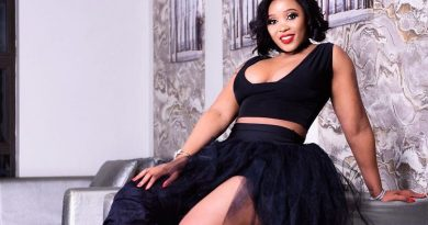 Sbahle Shows Off Her Assets